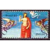 SB1325M-SELO V CENTENÁRIO DE NASCIMENTO DO PINTOR RAPHAEL SANZIO (DO BLOCO) - 1983 - MINT