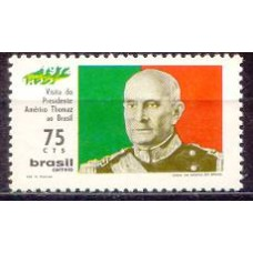 SB0727M-SELO VISITA DO PRESIDENTE THOMAZ DE PORTUGAL - 1972 - MINT