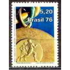 SB0951M-SELO CAMPEONATO INTERNACIONAL MILITAR DE ATLETISMO - 1976 - MINT